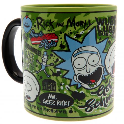 Caneca Rick and Morty 318176