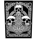 Logo Amon Amarth - Design: Three Skulls
