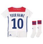 63be30dcff492 Equipamento de futebol para criança Olympique Lyonnais 2018-2019 Home  personalizada