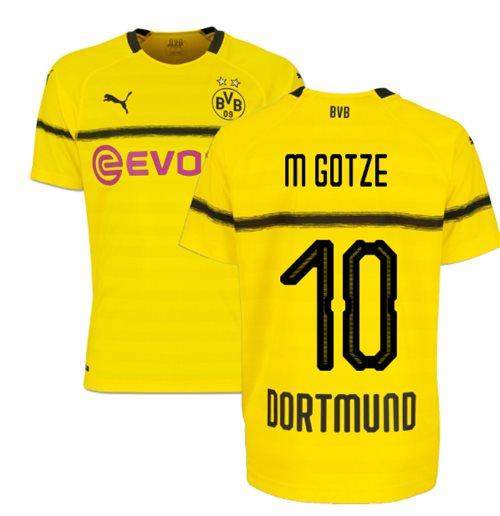 Camiseta 2018 2019 Borussia Dortmund 2018-2019 Home Original Online 59902bb35fd85
