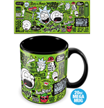 Caneca Rick and Morty 323378