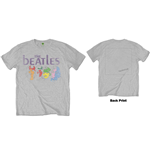 Camiseta Beatles de homem - Design: White Album Back