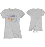 Camiseta Beatles de mulher - Design: White Album Back