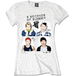Camiseta 5 seconds of summer 324801