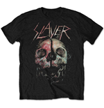 Camiseta Slayer de homem - Design: Cleaved Skull