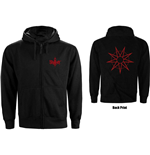 Suéter Esportivo Slipknot unissex - Design: 9 Point Star
