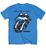 Camiseta The Rolling Stones de homem - Design: Steel Wheels