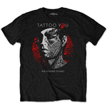 Camiseta The Rolling Stones de homem - Design: Tattoo You Circle