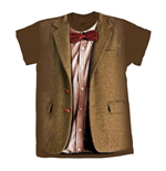 Camiseta Doctor Who de mulher - Design: 10th Doctor Stonehenge