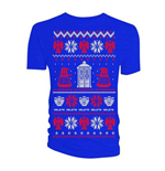 Camiseta Doctor Who de mulher - Design: Ugly Xmas Sweater
