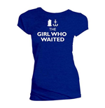 Camiseta Doctor Who de mulher - Design: The Girl Who Wanted