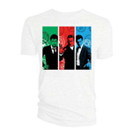 Camiseta Doctor Who de mulher - Design: Red, Green, Blue Doctors