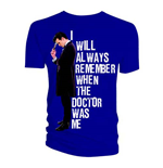 Camiseta Doctor Who de homem - Design: I Will Always Remember When The Doctor Was Me