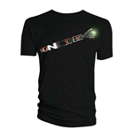 Camiseta Doctor Who de homem - Design: Sonic Screwdriver Words