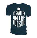 Camiseta Doctor Who de homem - Design: Smaller on the Outside