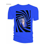 Camiseta Doctor Who de homem - Design: Tardis Blue Swirl