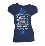 Camiseta Doctor Who de mulher - Design: The Tea is Getting Cold
