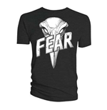 Camiseta 2000AD de homem - Design: Judge Dredd Judge Fear Giant Badge