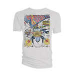 Camiseta 2000AD de homem - Design: Judge Dredd Distressed Cursed Earth Cover