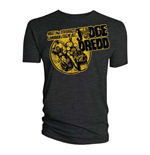Camiseta 2000AD de homem - Design: Judge Dredd - Toughest Lawman of them all