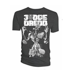 Camiseta 2000AD de homem - Design: Judge Death Cover