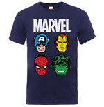 Camiseta Marvel Superheroes 340565