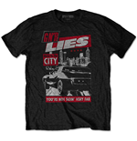 Camiseta Guns N' Roses unissex - Design: Move to the City