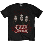 Camiseta Ozzy Osbourne unissex - Design: Crows & Bars