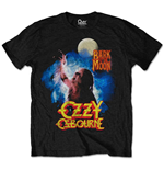 Camiseta Ozzy Osbourne unissex - Design: Bark at the moon
