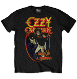 Camiseta Ozzy Osbourne unissex - Design: Diary of a Mad Man