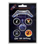 Broche Metallica - Design: Ride the Lightning