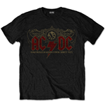 Camiseta AC/DC unissex - Design: Oz Rock