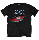 Camiseta AC/DC unissex - Design: The Razors Edge