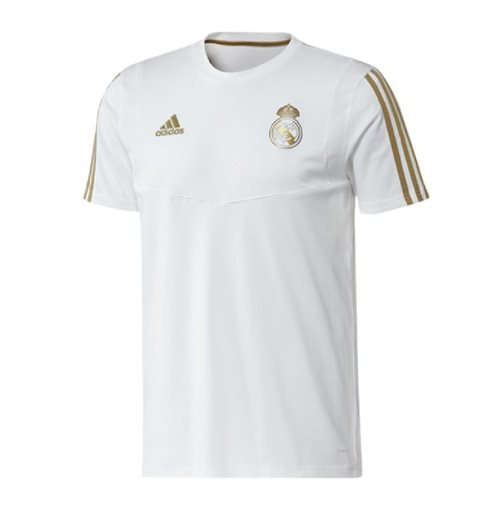 Camiseta Real Madrid 2019-2020 (Branco)