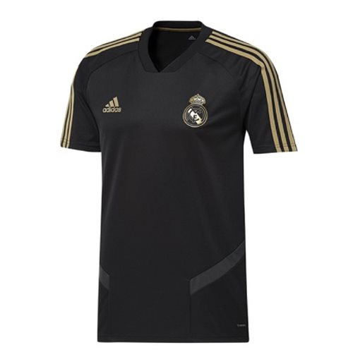 Camiseta Real Madrid 2019-2020 (Preto)