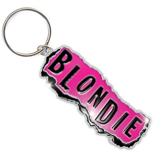 Chaveiro Blondie - Design: Punk Logo