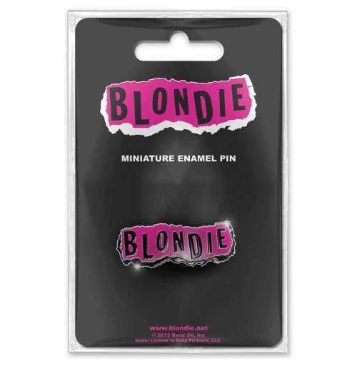 Broche Blondie - Design: Punk Logo