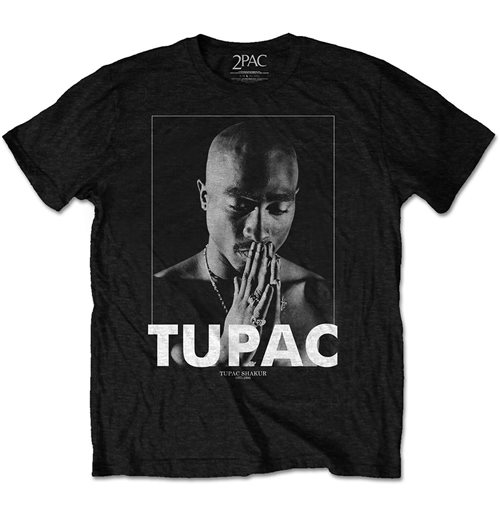 Camiseta Tupac unissex - Design: Praying