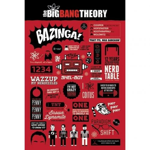 Poster Big Bang Theory