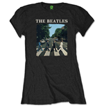 Camiseta Beatles de mulher - Design: Abbey Road & Logo