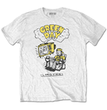Camiseta Green Day unissex - Design: Longview Doodle
