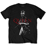 Camiseta Queen unissex - Design: Freddie Crown