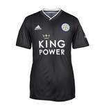 Camiseta 2018/2019 Leicester City F.C. 2019-2020 Away (Cinza)