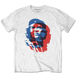 Camiseta Che Guevara unissex - Design: Blue and Red