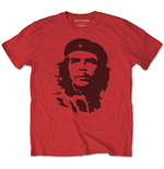Camiseta Che Guevara unissex - Design: Black on Red