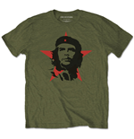 Camiseta Che Guevara unissex - Design: Military