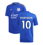 Camiseta 2018/2019 Leicester City F.C. 2019-2020 Home personalizada