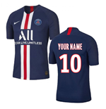 Camiseta 2018/2019 Paris Saint-Germain 2019-2020 Home personalizada