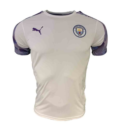 Camiseta Manchester City FC 2019-2020 (Branco)