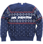 Suéter Esportivo One Direction unissex - Design: Christmas Jumper